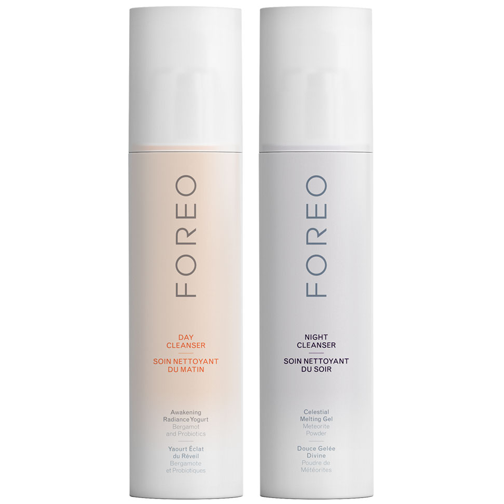 FOREO | FOREO Day & Night Cleanser Pack - Designed For LUNA, 2 100ml Bottles | Goxip