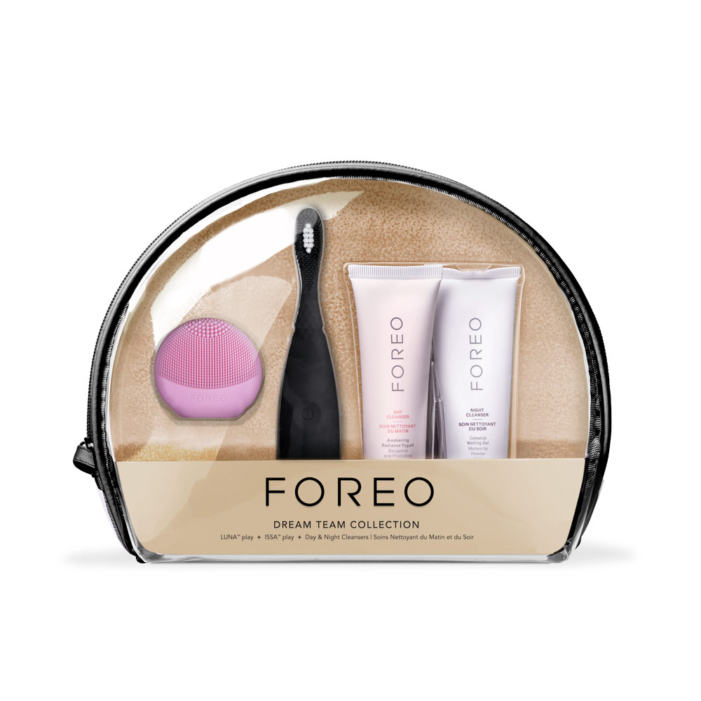 Gift Set Dream Team, Pink/Black from FOREO
