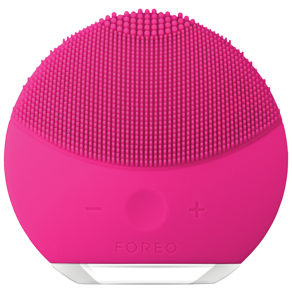 FOREO | FOREO LUNA Mini 2 Facial Cleansing Brush For All Skin Types - Fuchsia | Goxip