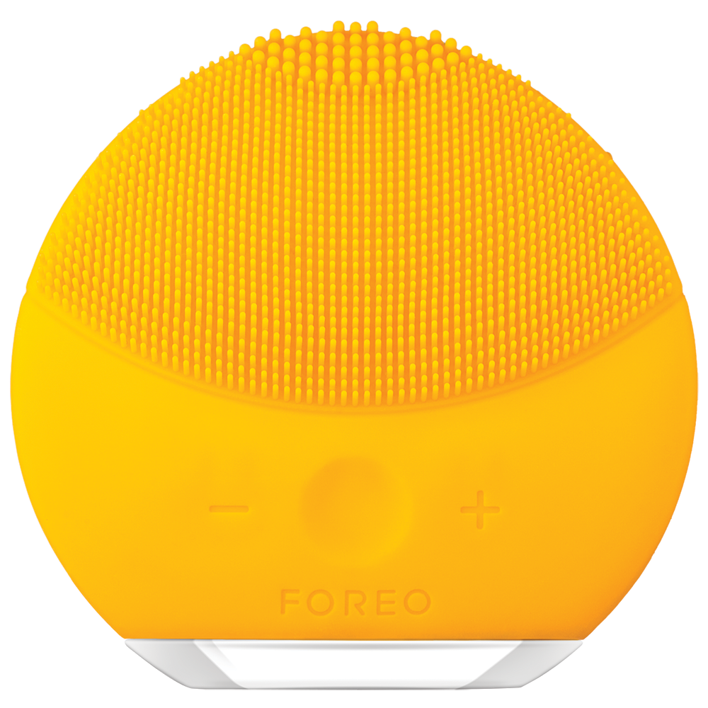 LUNA MINI 2 FACIAL CLEANSING BRUSH FOR ALL SKIN TYPES - SUNFLOWER YELLOW