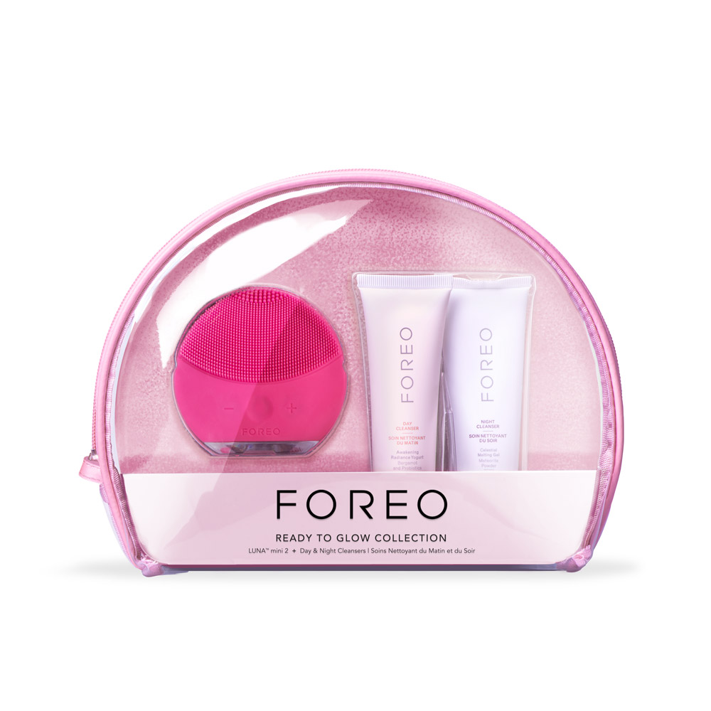 Gift Set Ready To Glow in Magenta from FOREO