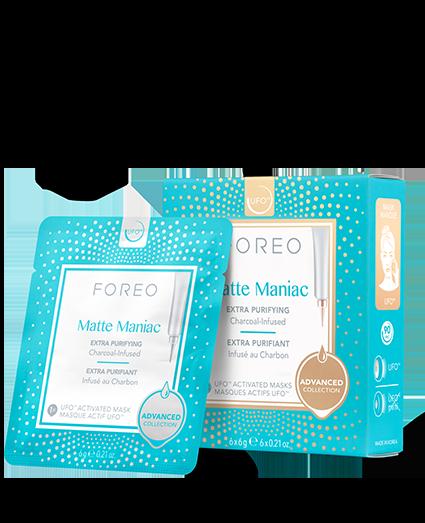 Matte Maniac Mask packaging