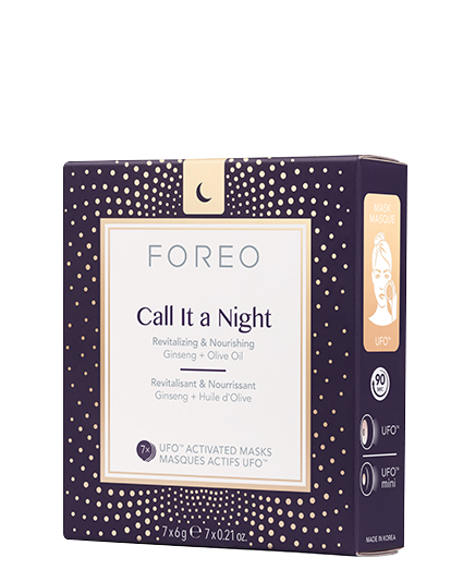 Call It a Night Mask packaging