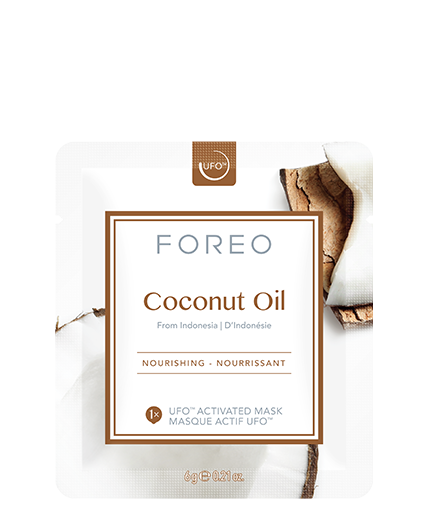Coconut Oil Masks packaging
