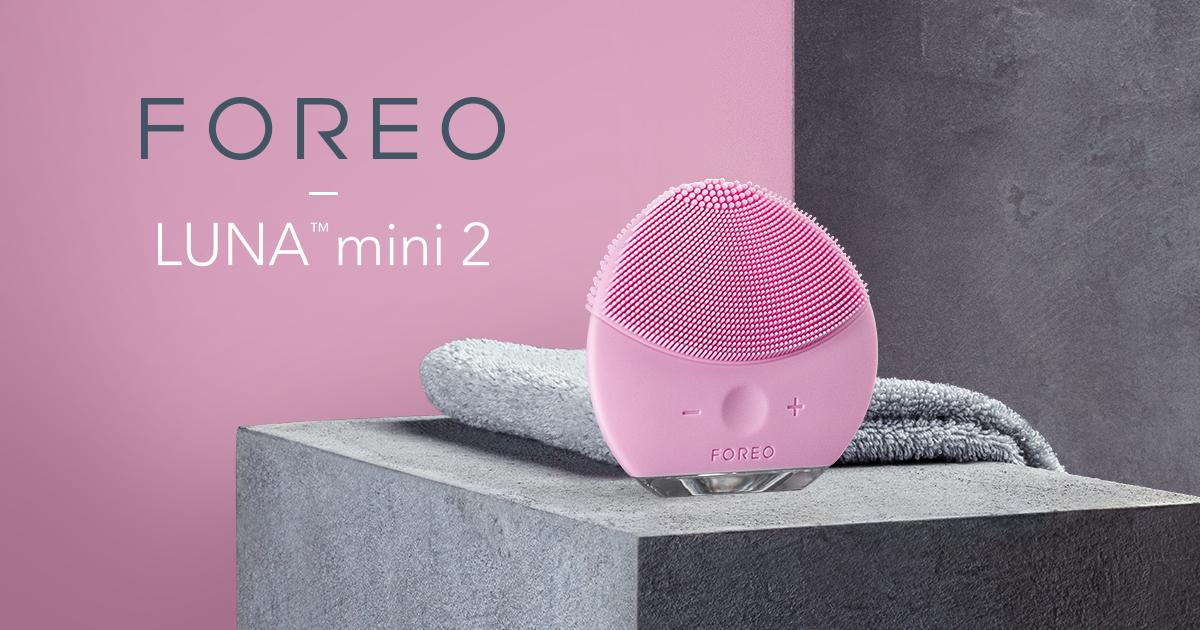 تقشير الوجه و تنظيف البشرة مع لونا ميني ٢|2 FOREO - LUNA mini